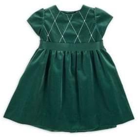 Florence Eiseman Baby Girl's Velvet Dress
