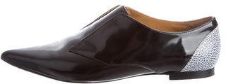 3.1 Phillip Lim3.1 Phillip Lim Leather Pointed-Toe Oxfords