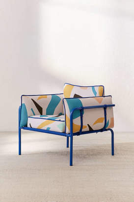 Howell Modern Print Arm Chair