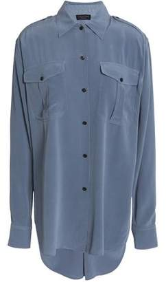 Rag & Bone Silk-Satin Crepe Shirt