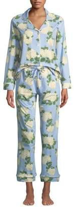 BedHead Hydrangea Classic Pajama Set, Plus Size