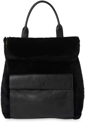Whistles Shearling Verity Backpack