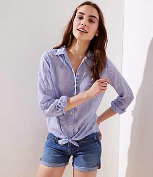 6031828c9 LOFT Women's Longsleeve Tops - ShopStyle