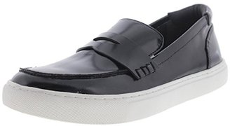 Kenneth Cole Womens Kacey Leather Slip On Penny Loafers Black 6 Medium (B,M) $64.99 thestylecure.com