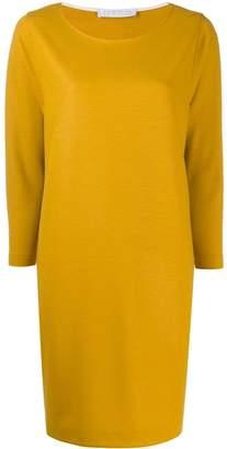 Harris Wharf London long-sleeve flared dress