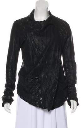 Giorgio Brato Perforated Leather Jacket