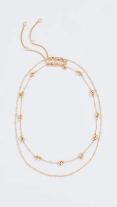 Madewell Knotted Layered Necklace