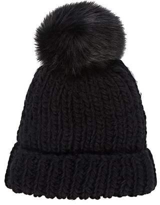 Barneys New York WOMEN'S POM-POM-EMBELLISHED HAT