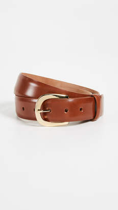 W.KLEINBERG Skinny Leather Belt