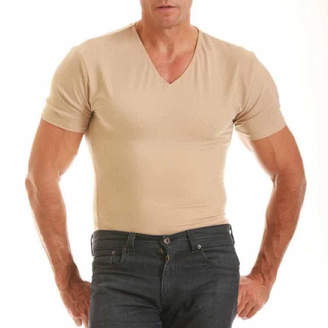 INSTA SLIM Insta Slim Men's Compression V-Neck Shirt