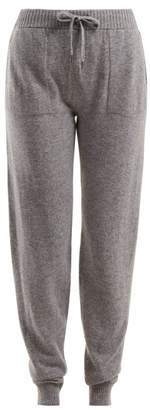 Derek Rose Finley Cashmere Track Pants - Womens - Grey