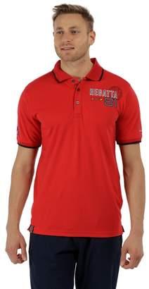 Regatta Red 'Tremont' Polo Shirt
