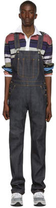 Naked & Famous Denim Denim Indigo Left Hand Twill Selvedge Overalls