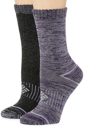 Columbia 2 Pair Crew Socks