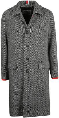 Tommy Hilfiger Herringbone Single-breasted Coat