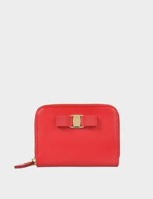 Salvatore Ferragamo Vara Medium Zipped wallet