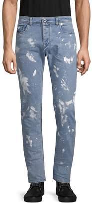 Diesel Men's Splatter Skinny Jeans