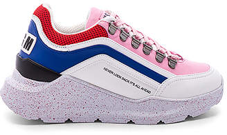 MSGM Chunky Running Lace Up Sneaker
