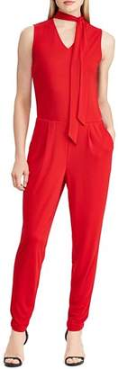 Ralph Lauren Tie Neck Jumpsuit