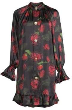 Mother of Pearl Esme Rose Print Dress