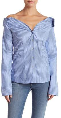 LIKELY Sierra Striped Button Down Shirt