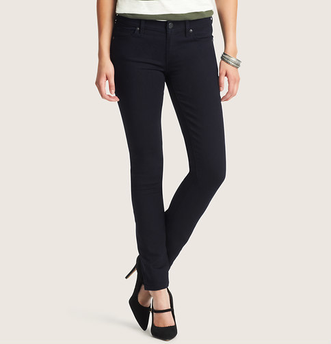 LOFT Modern Skinny Jeans in Saturated Rinse Wash