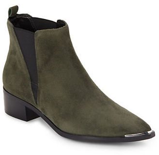 Marc Fisher Ltd Yale Croco Print Leather Boots $179 thestylecure.com