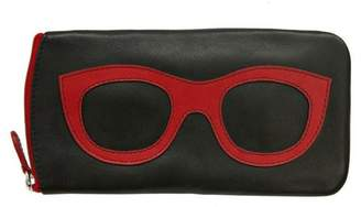 International Leather Leather Eyeglass Case