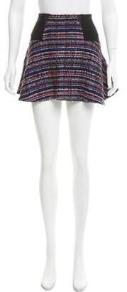 Thakoon Tweed Flare Mini Skirt