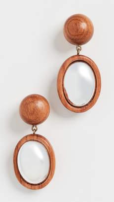 Rebecca De Ravenel Mirror Mirror Earrings