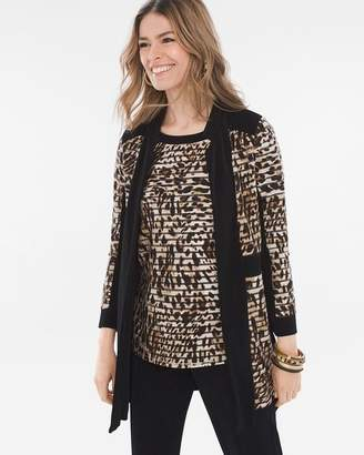 Travelers Collection Leopard-Print Jacket
