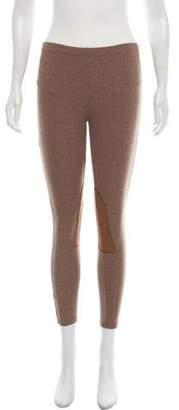 Ralph Lauren Mid-Rise Herringbone Leggings