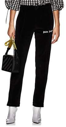 Palm Angels Women's Logo Velour Track Pants