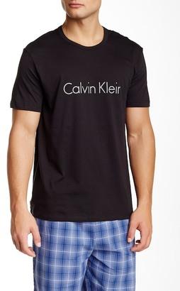 Calvin Klein Crew Large Chest Logo Tee $24 thestylecure.com