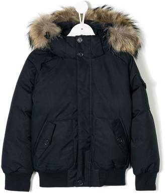 Pyrenex Kids hooded padded jacket