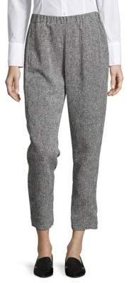 Ellen Tracy Petite Neo Romanticism Textured Cropped Pants