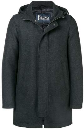 Herno hooded duffle coat