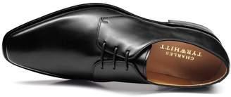 Charles Tyrwhitt Black Goodyear Welted Derby Shoe Size 7.5