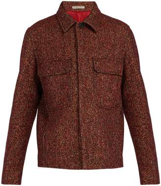 Bottega Veneta Patch-pocket wool-blend tweed jacket