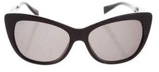 Cat Eye Alain Mikli Textured Cat-Eye Sunglasses