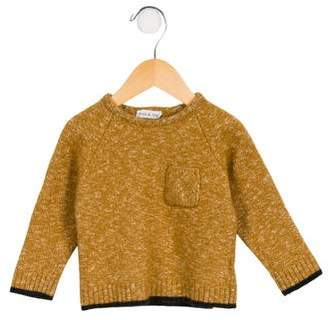 Babe & Tess Girls' Wool-Blend Sweater
