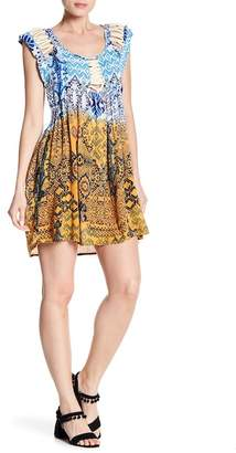 Raga Until Sunrise Cap Sleeve Mini Dress