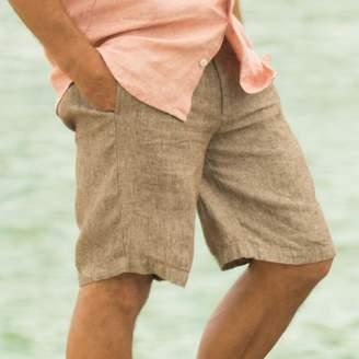 Madda Fella Truman Linen Short