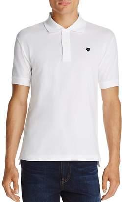 Comme des Garcons Black Heart Short Sleeve Polo Shirt