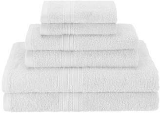 Co The Twillery Patric 6 Piece 100% Cotton Towel Set