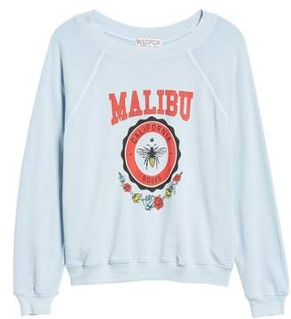 Wildfox Couture Malibu Crest Sommers Sweatshirt