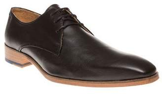 Sole New Mens Black Poplar Leather Shoes Lace Up