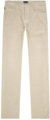 Tom Ford Corduroy Straight Leg Trousers