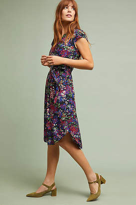 Anthropologie 52 Conversations by Colloquial Short-Sleeved Shirtdress