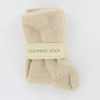 Johnstons of Elgin Women's Cashmere Mix Socks Made in Scotland (85% Cashmere 15% Nylon)